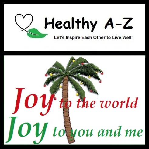 HealthyAZ Inspiration-Christmas Palm Tree