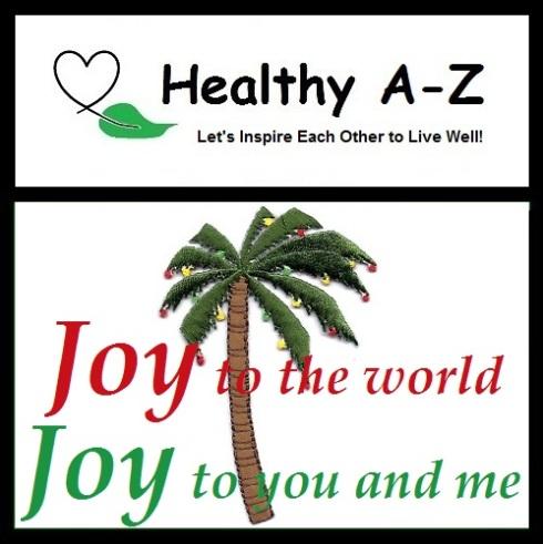 HealthyAZ Inspiration-Christmas Palm Tree