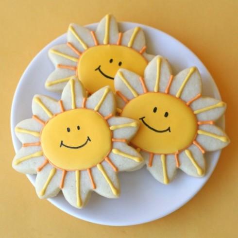 SMILE-Smiling Sunshine Cookies_GloriousTreats